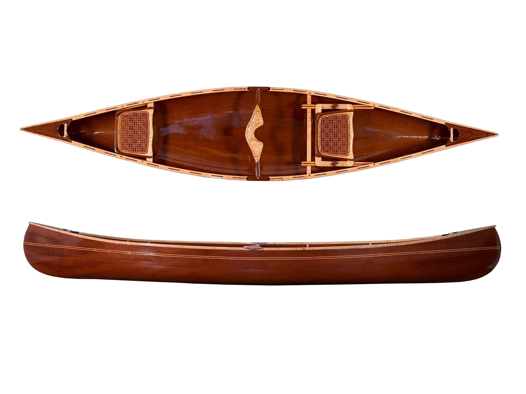 Mahogany Canoe By Sue Spray DVM