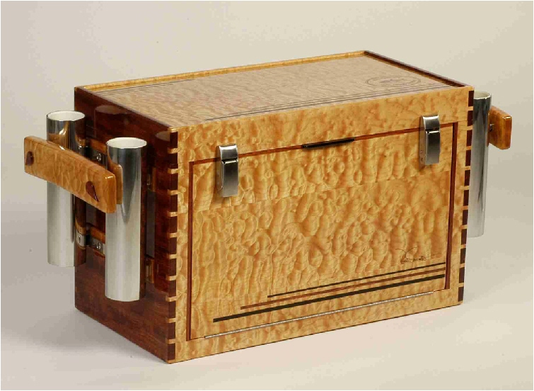 how to make a wooden tackle box